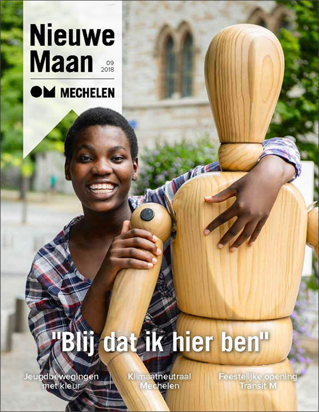 Nieuwe maan cover magazine