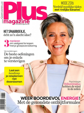 Cover plus magazine